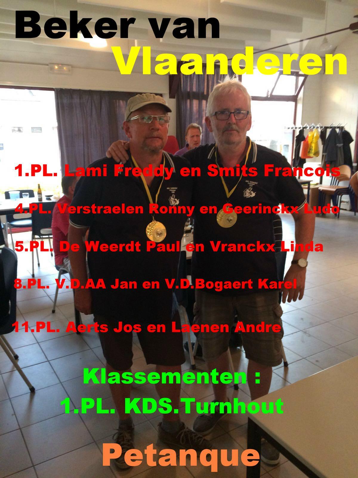 Beker van Vlaanderen Petanque