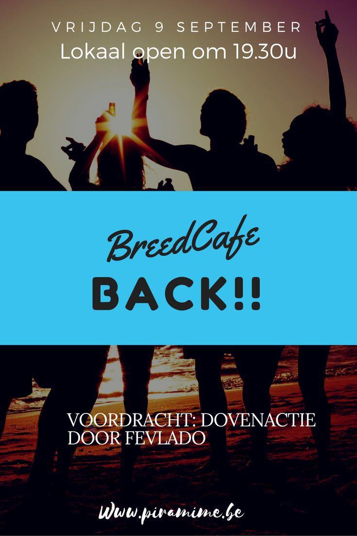 Breedcafé op 9/9/2016